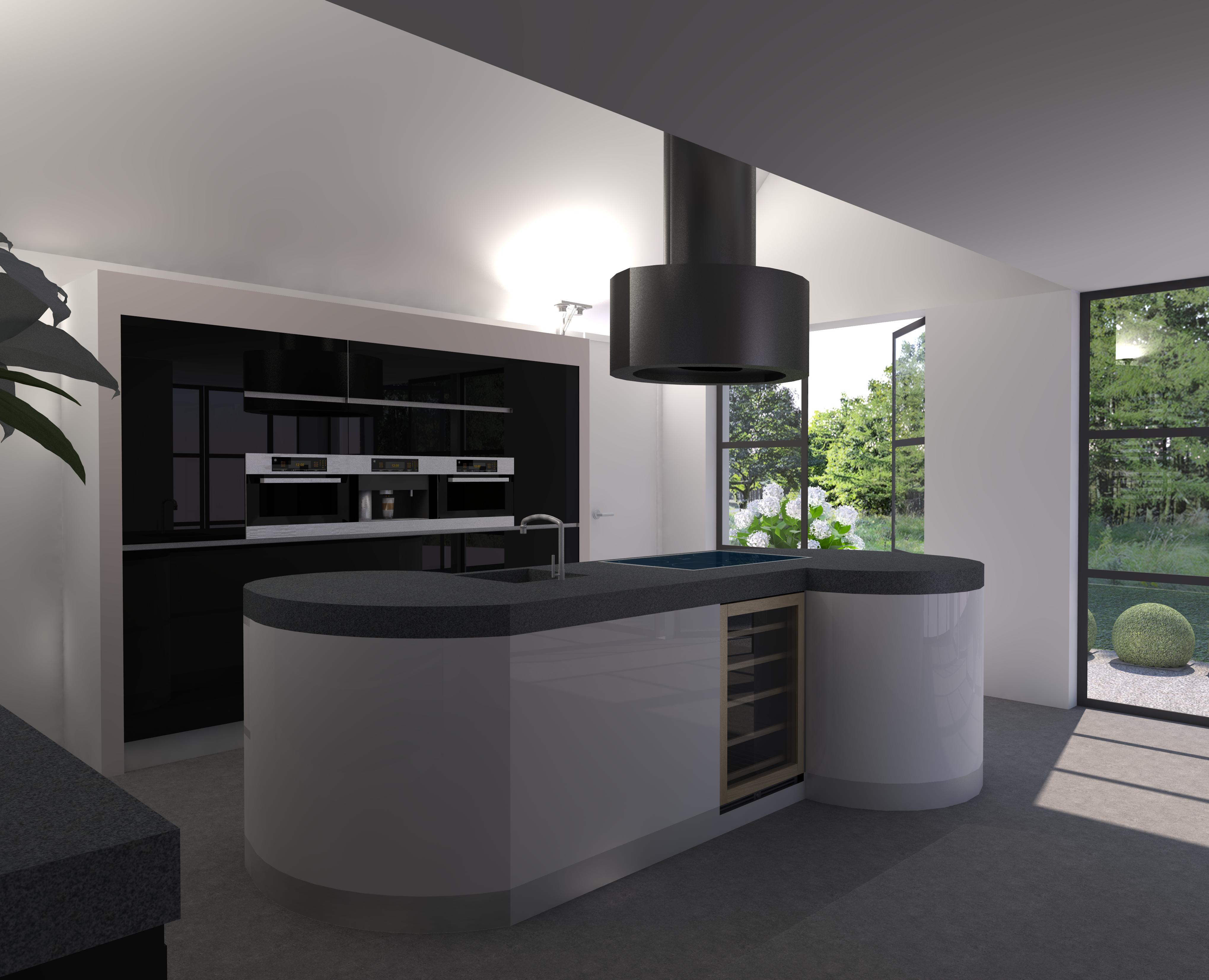 Kookeiland design - Deco keuken ontwerp ...