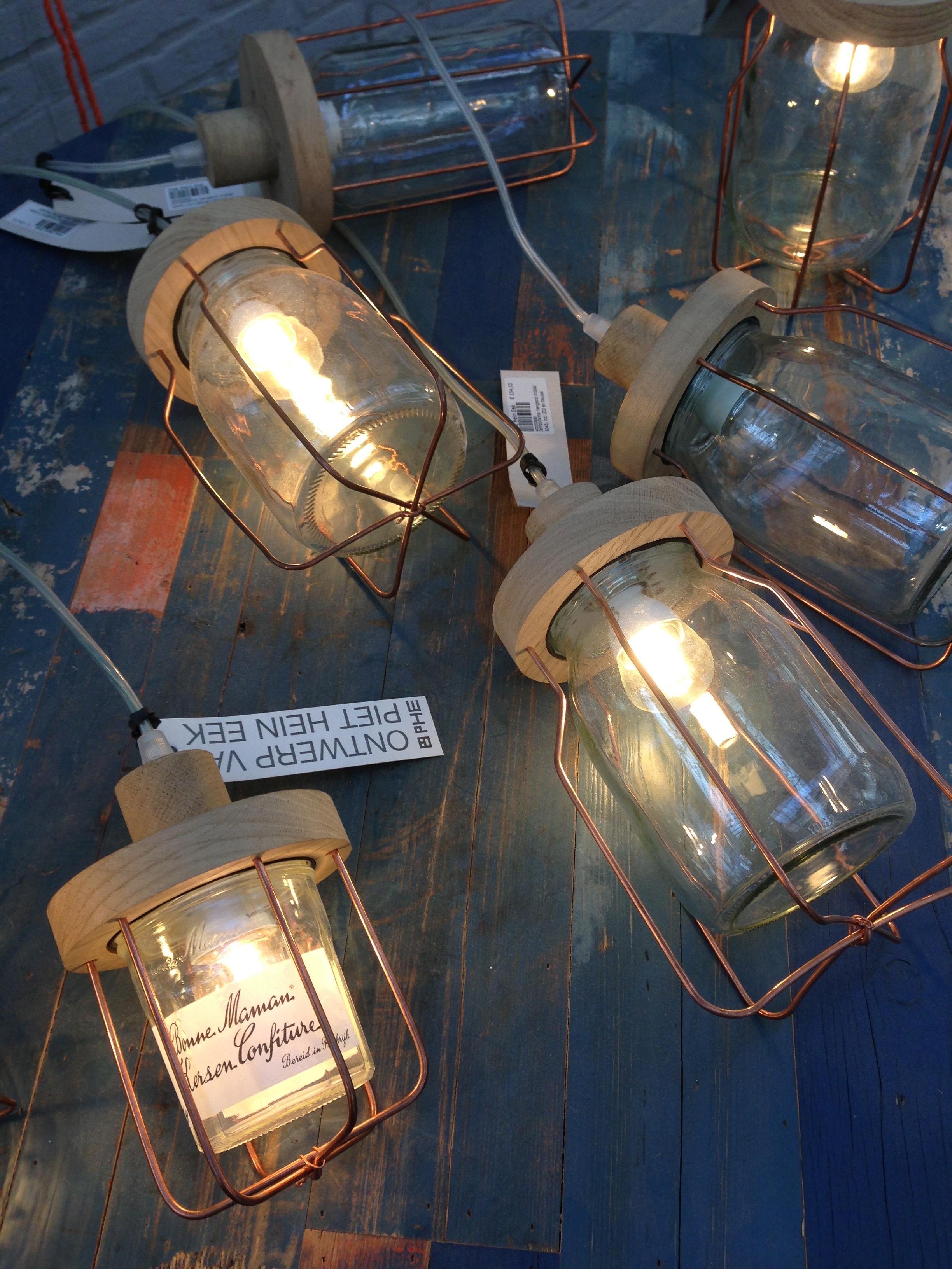 Jampot lampen - Piet Hein Eek