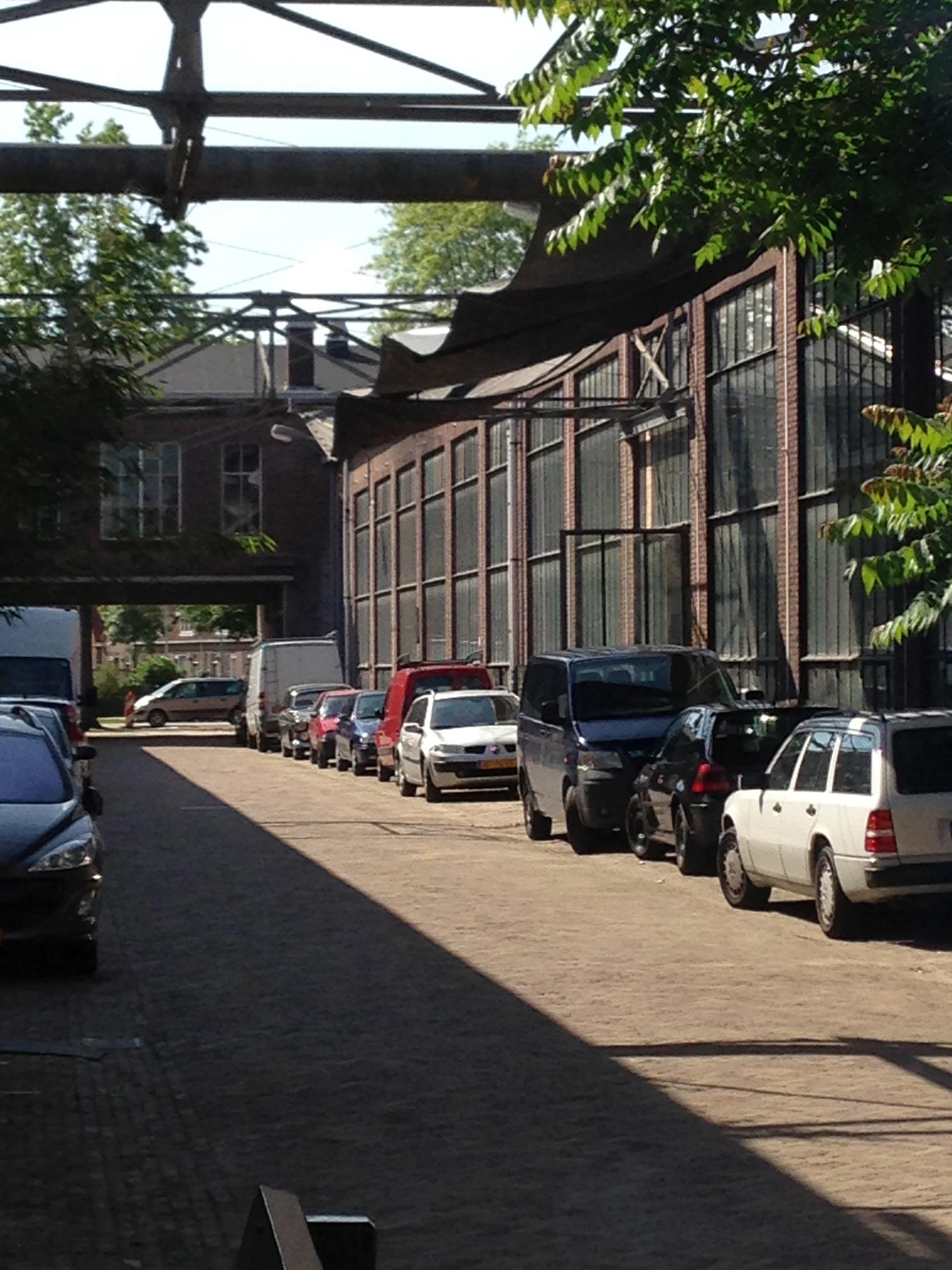 Een klein stukje van het terrein - Piet Hein Eek