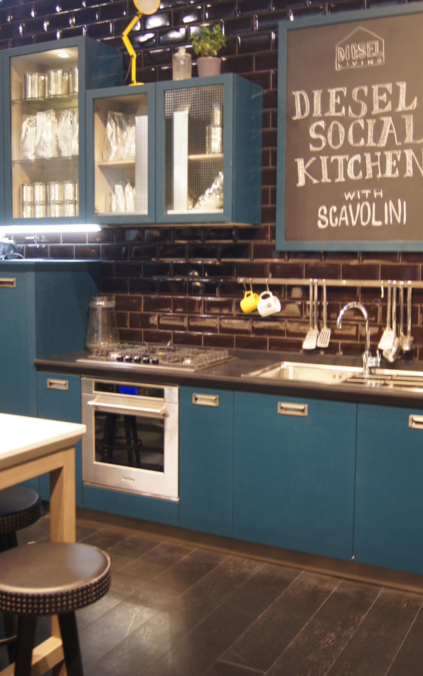 Diesel kitchen| Salone del Mobile