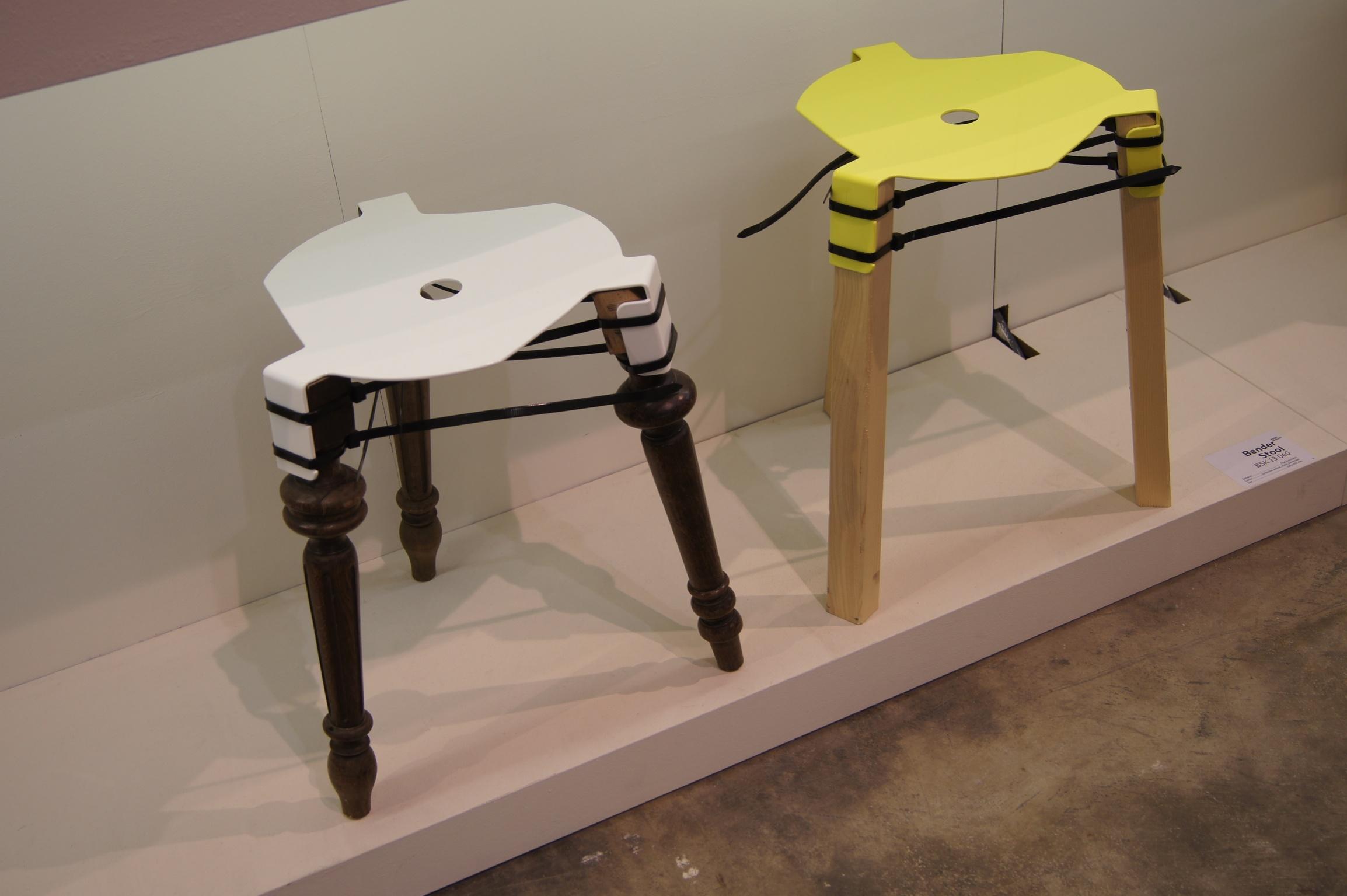 Bender Stool by Paul Evermann | Salone del Mobile | Milan Design Week | Lambrate