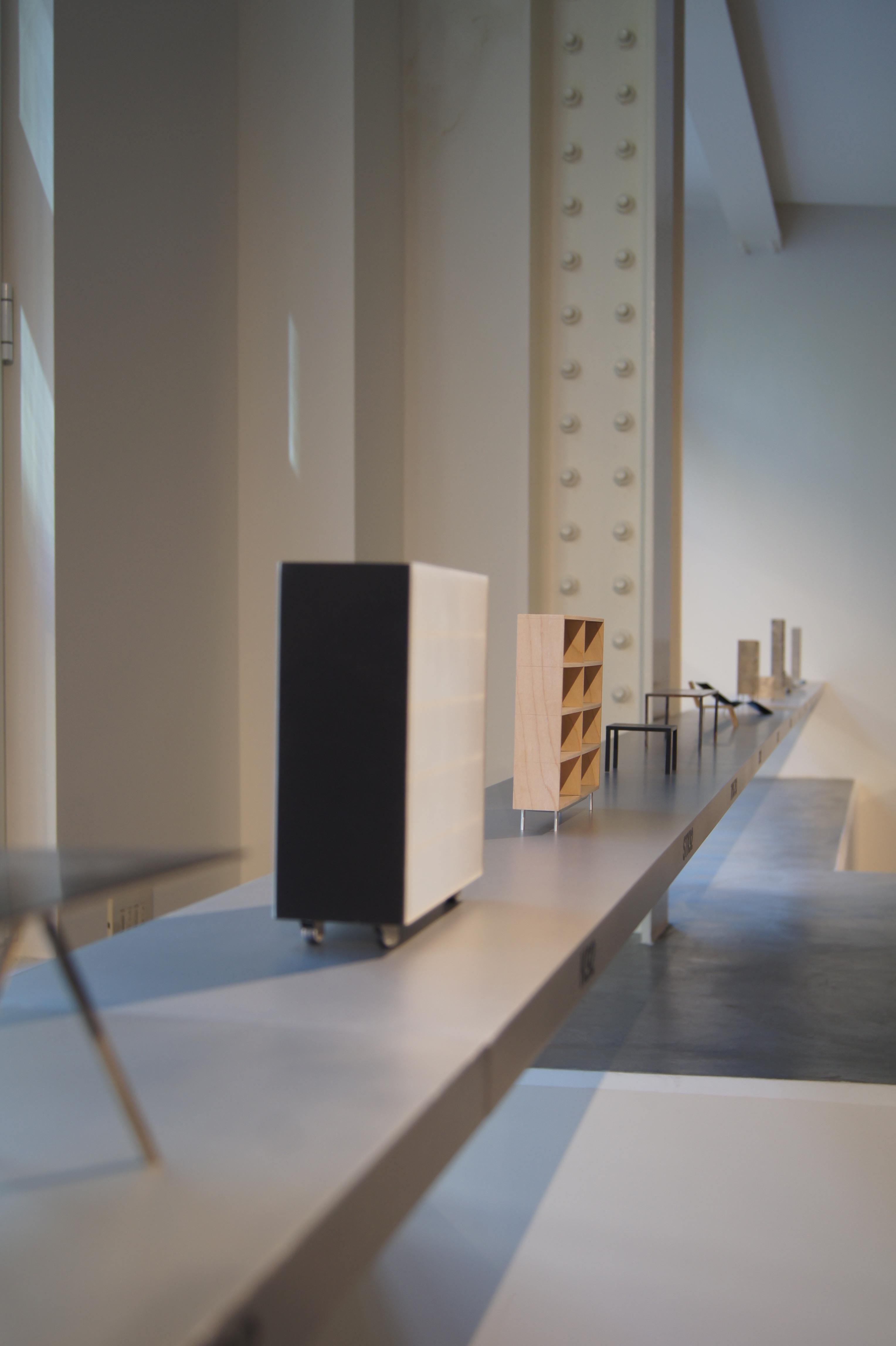Modellen van Maarten van Severen by OMA - Lensvelt | Salone del Mobile 2014 | Lambrate Via Ventura